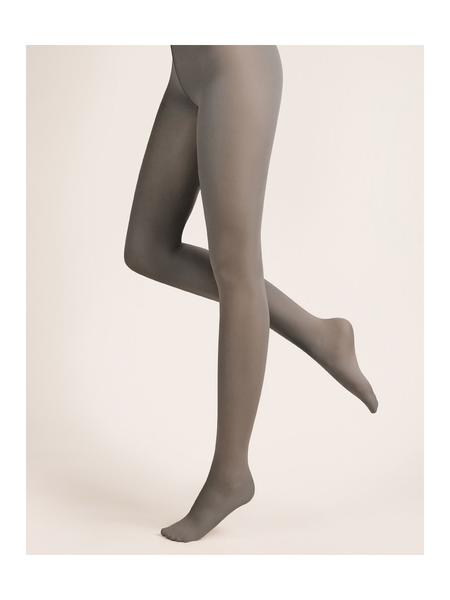 Collant taille basse invisible gris